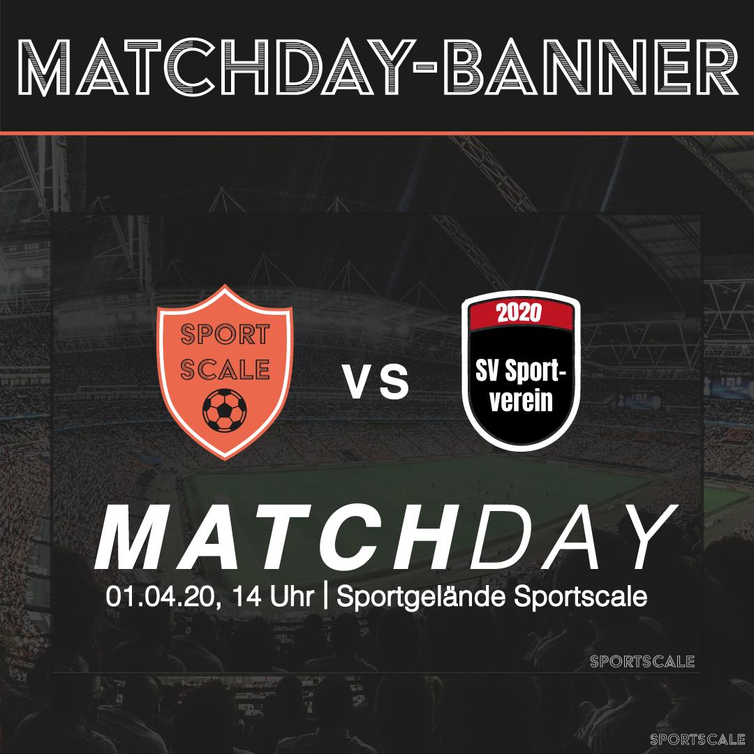 Matchday-Banner